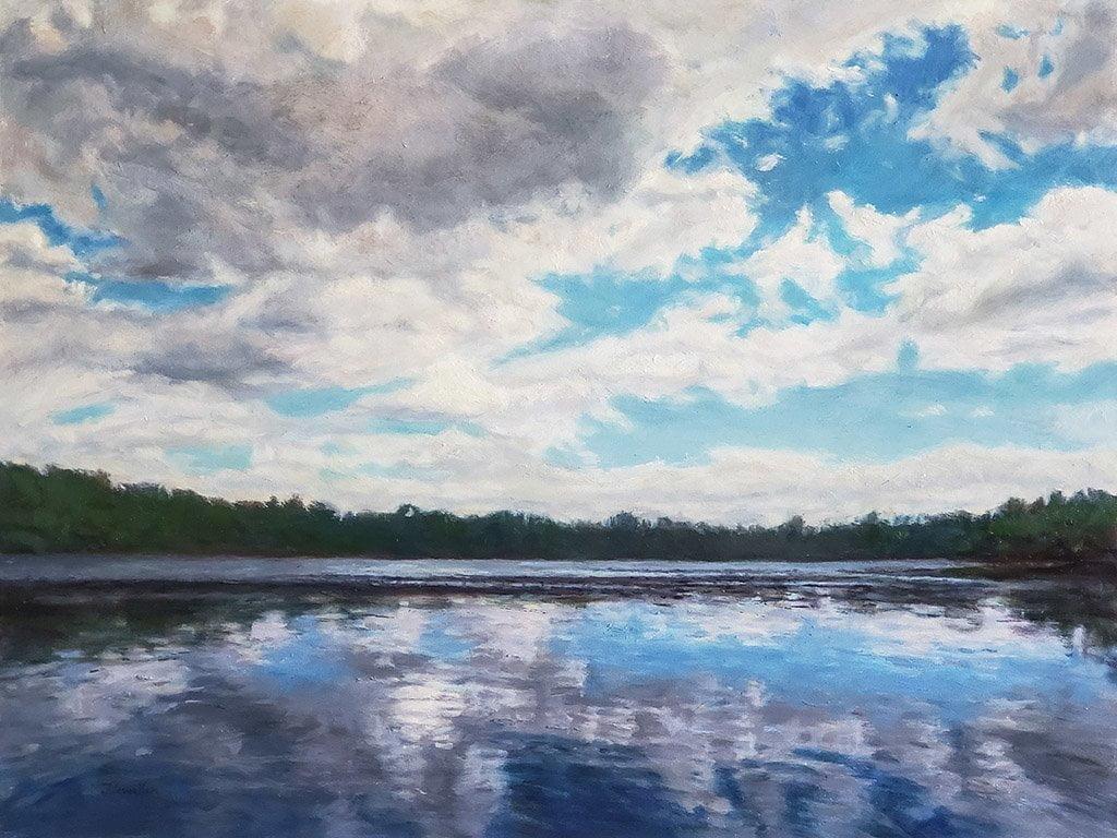 Antrim Lake Clouds