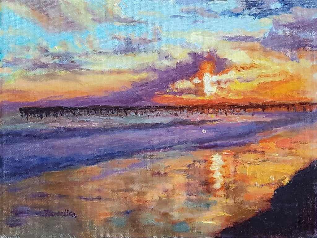 Ann's Sunset study