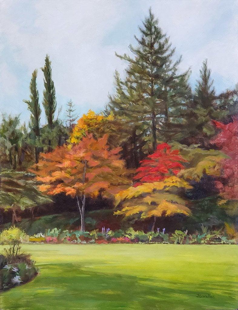 Butchart Gardens in October